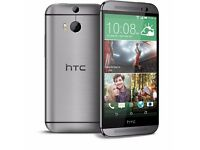 HTC M8 16G ORIGINAL UNLOCKED TO ALL NETWORKS WITH BOX