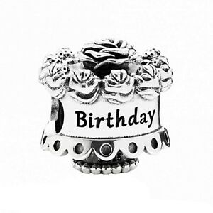 Genuine Pandora Birthday Cake Charm 791289