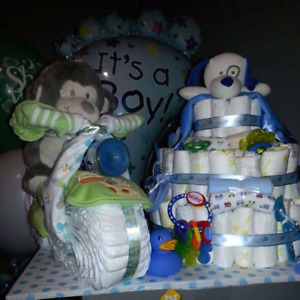 Gâteau de couches/diapers cake