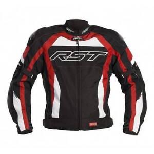 RST Pro Series CPX-C Sport 2 Jacket Black Red - Size Medium Thornbury Darebin Area Preview