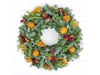 Christmas Wreath Making Workshop- Sunday 4th December 2016
