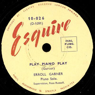 ERROL GARNER -PIANO SOLO- Play Piano Play / Frankie and Johnny    78rpm     X238