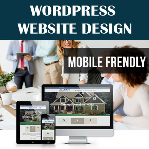 WORDPRESS WEBSITE - CUSTOM WEBSITE DESIGN - PROFESSIONAL & MOBILE FRIENDLY