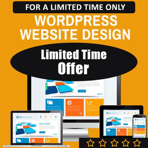 WEBSITE DESIGN PACKAGE - PROFESSIONAL & MOBILE READY WEB DESIGN