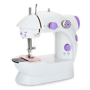 Mini Handheld Sewing Machine Dual Speed Double Thread New