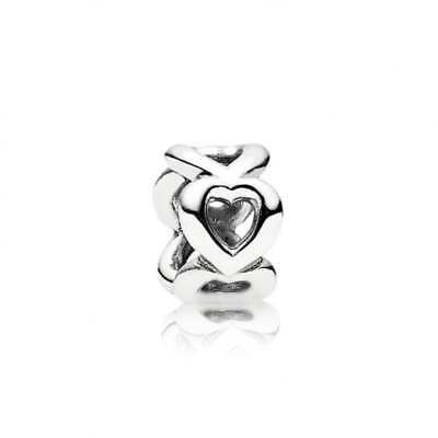 New  Authentic Pandora Open Heart Spacer  790454  30