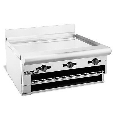 American Range ARGB-48, Gas 48 inch Griddle Overfire Broiler, -