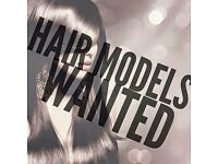 Hair models needed. All hair types required for cuts