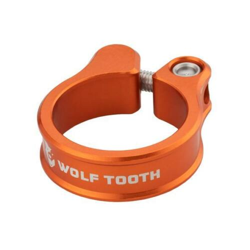 Wolf Tooth Precision-Machined Seatpost Clamp   34.9mm   Orange