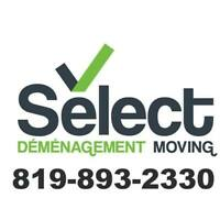 DÉMÉNAGEMENT SELECT / SELECT MOVING