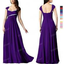 NEW Bridesmaid Formal Wedding Gown Dress Size 12-22 DP234 Springvale Greater Dandenong Preview