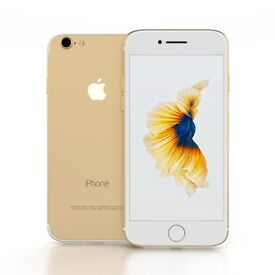 Apple iphone 7 Gold 128GB unlocked as new and with apple warranty