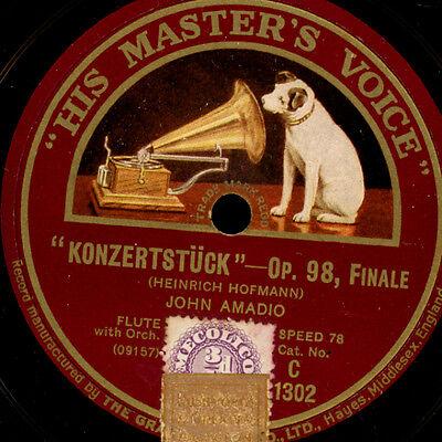 "JOHN AMADIO -Flute-  ""Hofmann"" Konzertstück / ""Chaminade"" Concertino       G2465"