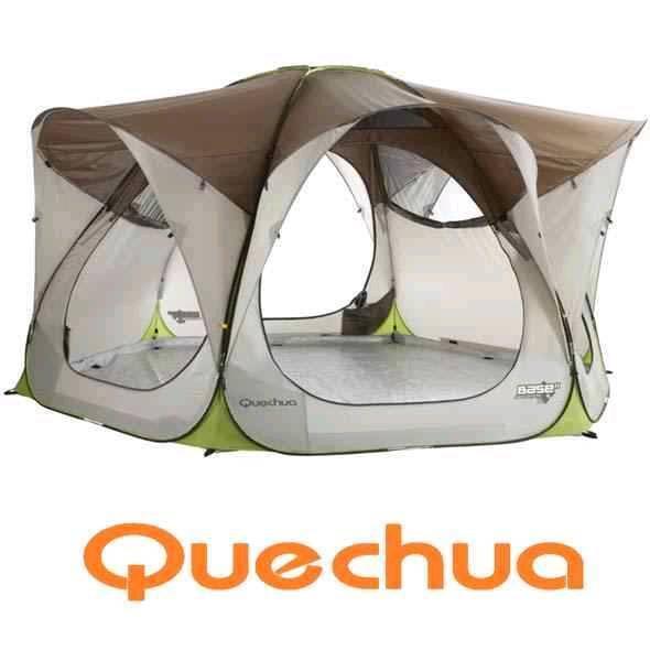 QUECHUA 2 SECONDS BASE XL TENT POP UP TENT DELIVERY