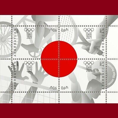 """Tokyo 2020"" Summer Olympic Games Azerbaijan stamps 2021"