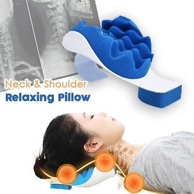 Neck and Shoulder Relaxing Pillow Relief Pain Device Traction Best Tmj Muscle