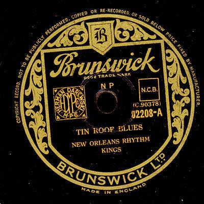 NEW ORLEANS RHYTHM KINGS Tin Roof Blues / That's a plenty  Schellackplatte X2647
