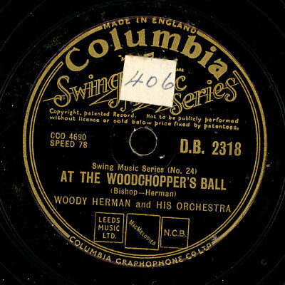 WOODY HERMAN & HIS ORCHESTRA At the Woodchopper's Ball / Sidewalks of Cuba  X098