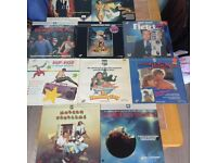 various laservision films