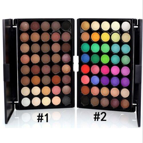 Augenschatten Make-Up Kosmetik Schimmer Matte Lidschatten Palette / Pin ox