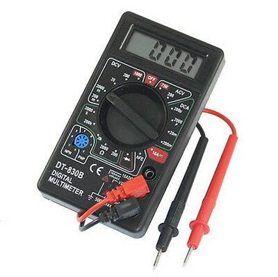 Dt-830b Digital Multimeter Ac Dc Voltmeter Ohmmeter Electrical Multi Tester Ca