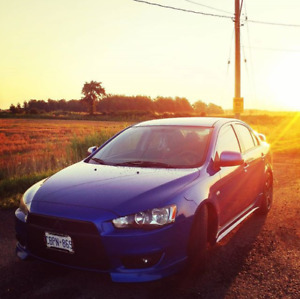 2009 Mitsubishi Lancer GT (Winter & Summer tires)