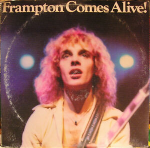 PETER FRAMPTON ‎ComesAlive 2LPs 1976 rock vinyl record 1st press