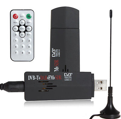 ROHS Digital USB TV Stick FM+DAB DVB-T RTL2832U+R820T Support SDR Tuner Receiver