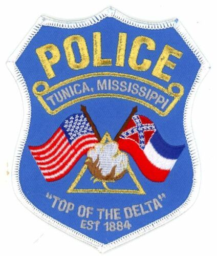 TUNICA POLICE MISSISSIPPI NEW COLORFUL PATCH SHERIFF