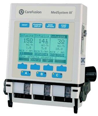 Alaris Ivac Medsystem Iii 2863b Series Infusion Pump Multi Channel Iv Pump