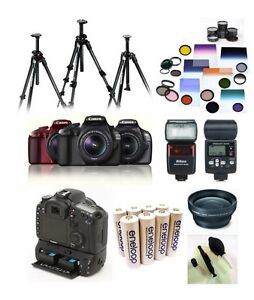 Camera, camera sticks,batteries,chargers and more accessories