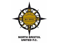 Footballers needed for the 2016/17 season at North Bristol United FC!