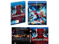 The amazing spiderman 1 & 2 BLU-RAYS