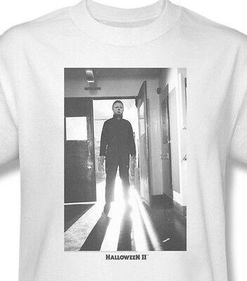 Halloween II Michael Myers T-shirt retro 1970's slasher 80's horror movie UNI564