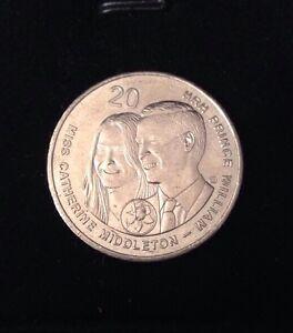2011 ROYAL WEDDING PRINCE WILLIAM & KATE MIDDLETON 20 C