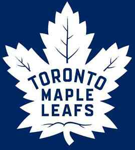 2 AWESOME tix to the Toronto Maple Leafs vs Ottawa Senators!!