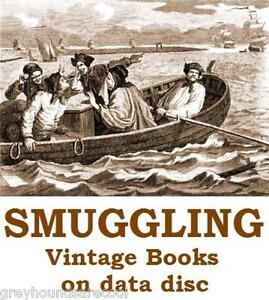 Smugglers-Smuggling-Customs-Collection-16-Vintage-Books-on-Data-Disc