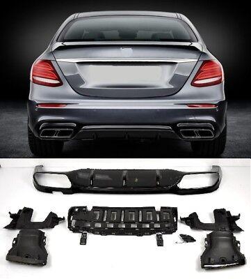 Für Mercedes-Benz E-Klasse W213 E63s AMG Night Edition Look Diffusor Diffuser
