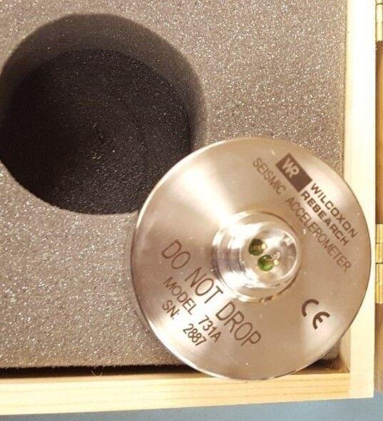 Wilcoxon Research 731A Seismic Accelerometer (IN FOAM, NO WOODEN BOX)