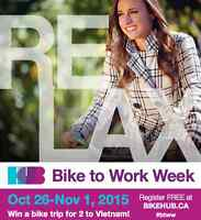 Bike to Work Week | Fall 2015 | Greater Vancouver