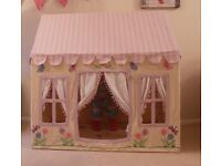 Fabric Playhouse butterfly cottage tent