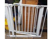 Safety gates. (2)