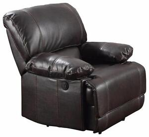 NEW Power Brown Reclining Chair