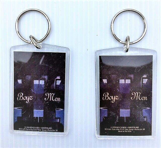 Boyz II Men Keychains Set of TWO 1994
