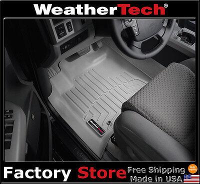 Weathertech Floor Mats Floorliner   Toyota Tundra Double Cab  2007 2011   Grey