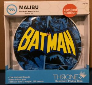 RETRO BATMAN LIMITED EDITION FRISBEE OFFICIAL SIZE AND WEIGHT