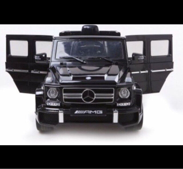 Licensed Mercedes G63 Amg G Wagon Kids Ride On Car With Paal Control 12 Electric Music