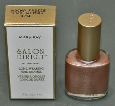 Mary Kay Salon Direct Long Wearing Nail Enamel Polish - MOCHA FREEZE Mary Kay Nail Enamel