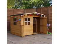 Mercia rose wooden playhouse Kirkby liverpool