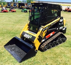New ASV RT-30 Track Loader